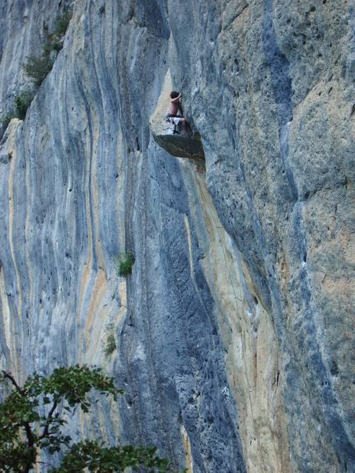 climbing tenere at cascade sector