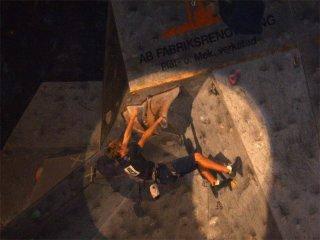 Jsm 2006 i malmö. Klättrade kl 23.45 efter över 7 timmar i isolering