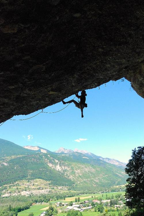 Dioul Glaoud 7c+, Mont Dauphin
