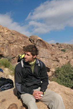 Me in Hueco Tanks 2006.
