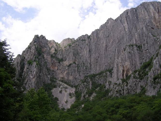 300 m of very beautiful sandstone Vratsata, Bulgaria