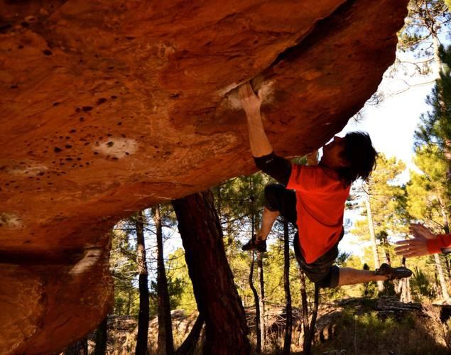 Techo bidedo 7b, Albarracín
