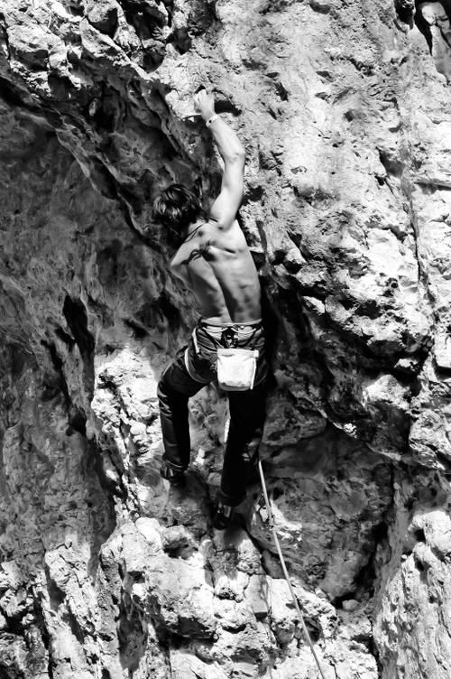 Pumping Iron 7b+, Südlicher Frankenjura