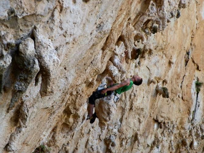 Morgan 7b+, Kalymnos