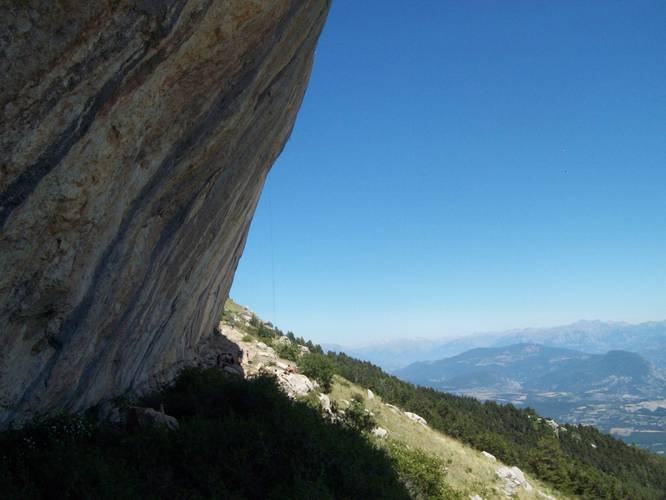 Ceuse, the most amazing crag, I've visited!!