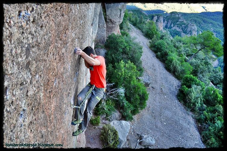 Bombero de la Roca 7a+, Sant Llorenç del Munt