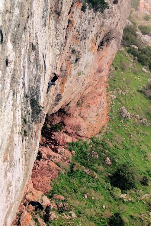 Pausanias ~7a+, Ekstrateia Climber: Papageorgiou Dimitris