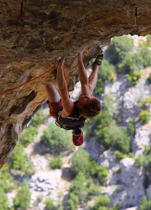 El Delfín 7c+, Rodellar, My favorite picture from my 2 month trip to Rodellar!