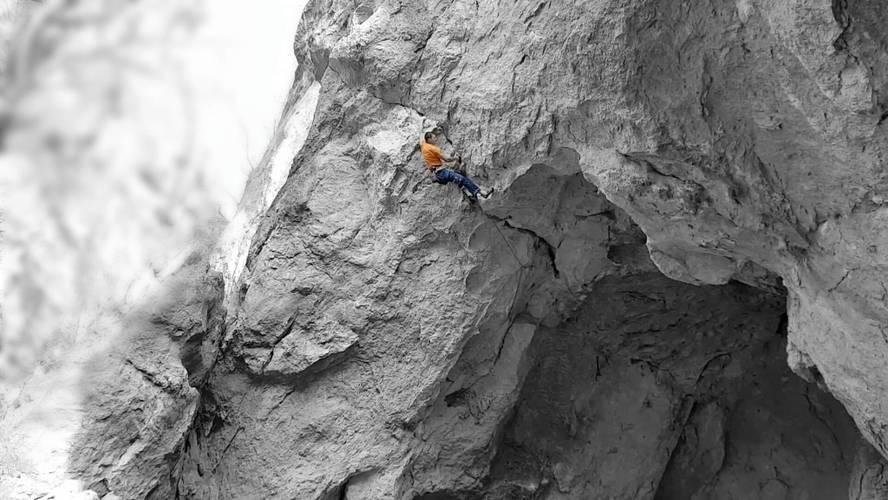 Kalvaria v skale