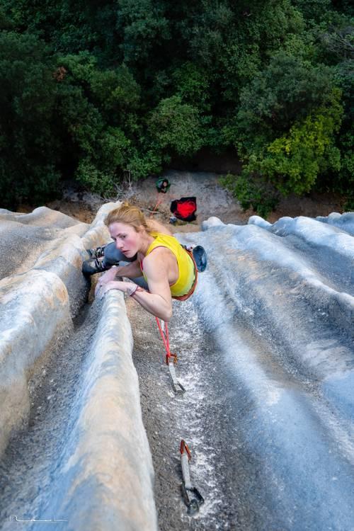 Best tufa climb ever! :)