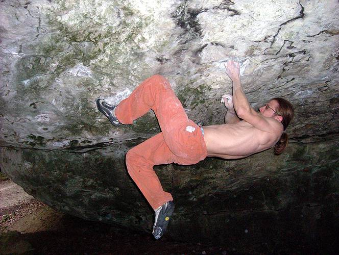 Terminator extended 8a+, Frankenjura