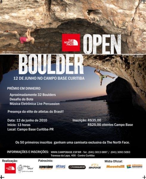 The North Face Open de Boulder