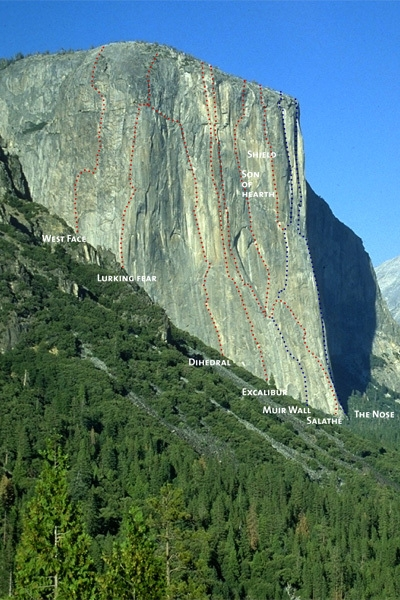 Novo recorde de velocidade na via The Nose, Yosemite