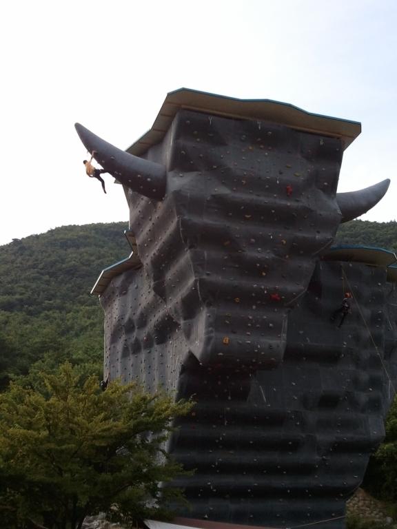The Giant Bull in Korea