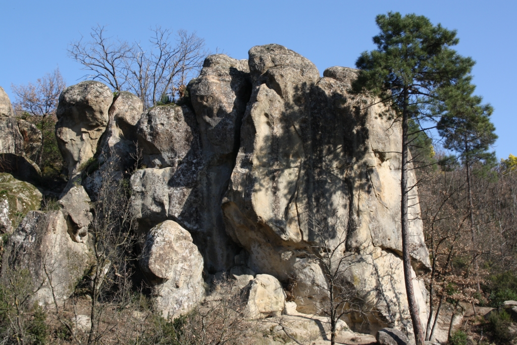 Artificial sand stone park: Contes
