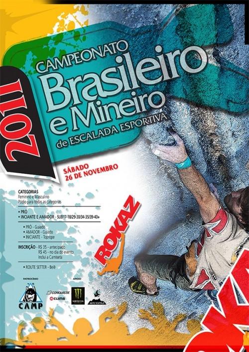 Campeonato Brasileiro e Mineiro de Escalada Esportiva 2011