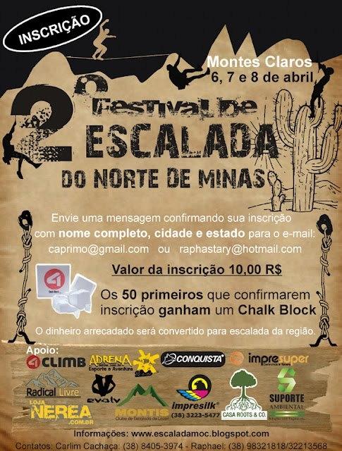 2o Festival de Escalada do Norte de Minas
