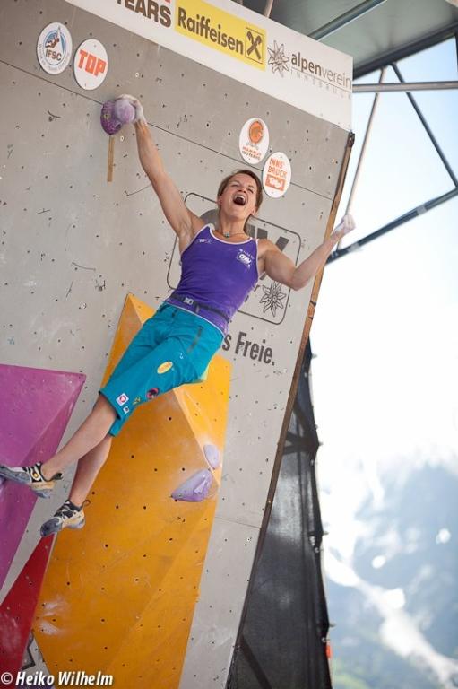 Anna Stöhr has already secured the title 2012