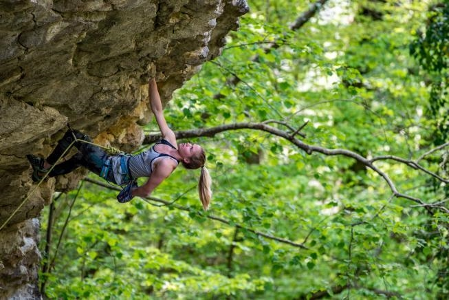Two 8c's third try by Vita Lukan (19)