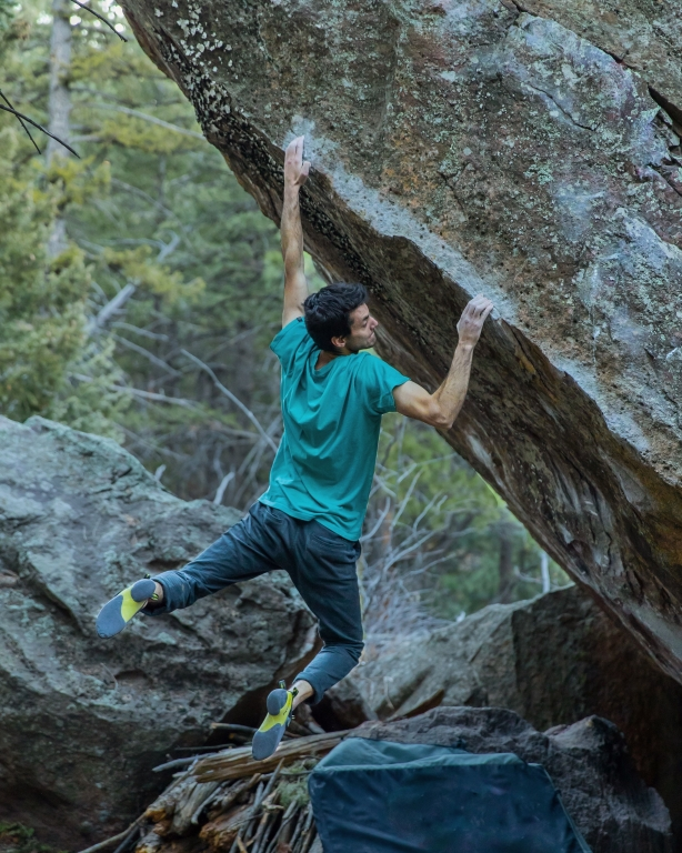 Paul Robinson reaches 1 000 boulders 8A and harder