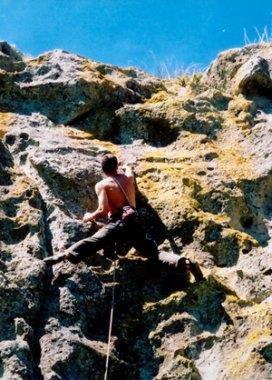 Ignembrite Grade 20, Castle Rock, NZ.