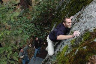 Team Effort, 7a, Yosemite, Crystals