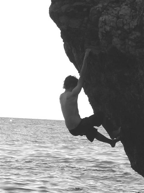 low water soloing, Finale Ligure