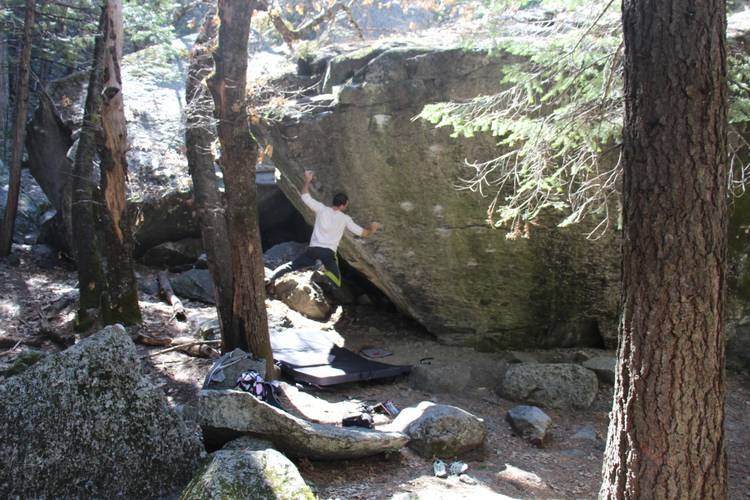 Athletes Die Young 7a, Yosemite.  The awesome dyno