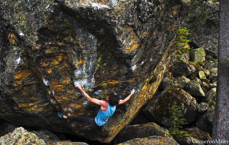 Dave Graham, The Ice Knife 8C
