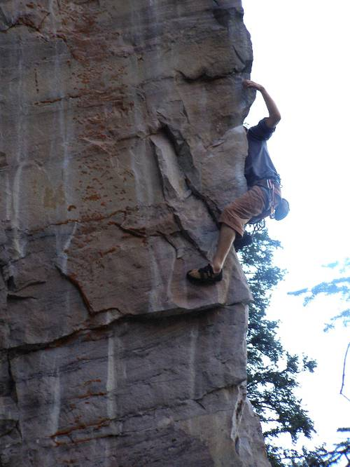 Chocolate bunnies from hell 6c+ Lake Louise