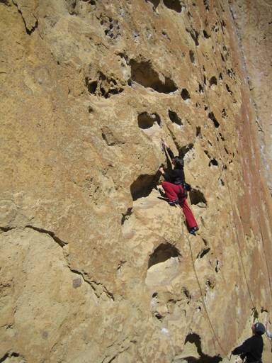 Five Gallon Buckets, 5B Smith Rock, Oregon -5 weeks after my c-section, 2006