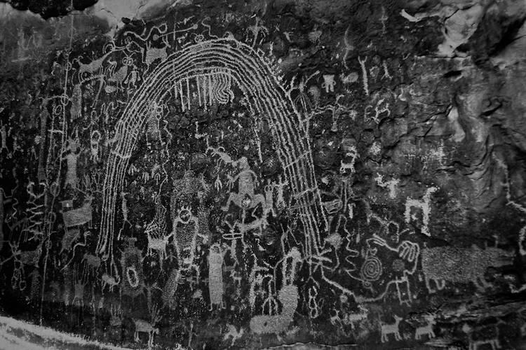 petroglyphs near Joe's Valley, Utah. 2012