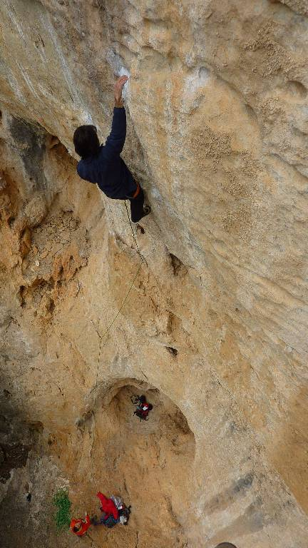 Walter in Are you ready ?, 8b+, Châteauvert