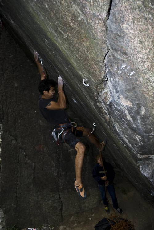 On Flash 7c - Juval/Italy