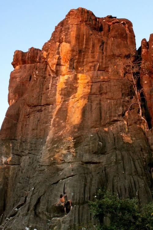 Lamúrias de um Viciado 6c+ - Serra do Cipó / Escalador Bizu