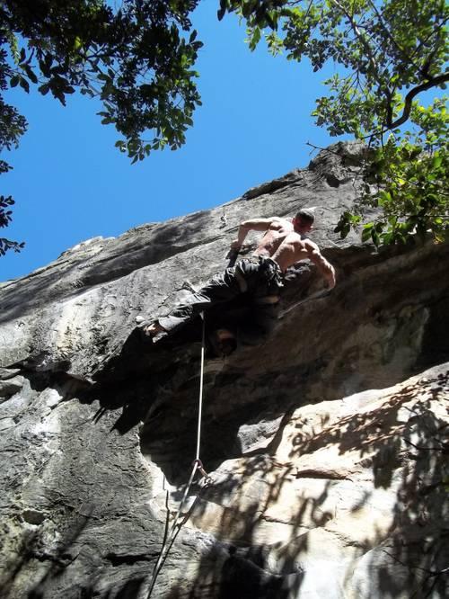 Jungle Boy 7b (8b br) - Serra do Cipó