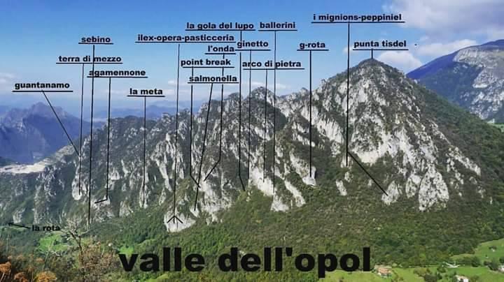 Valle dell'Opol maps