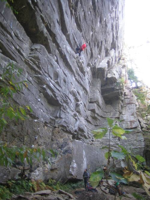Cell Block Six 7b+, Red River Gorge