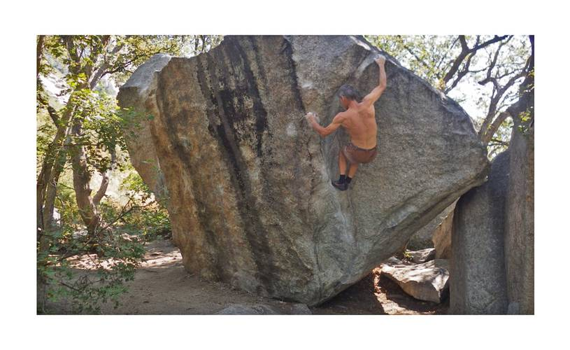 Lance's Dihedral 7a, in Little Cottonwood Canyon, Utah, USA. Beautiful area and lovely rock.
