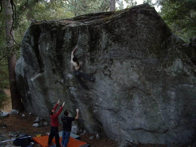 Thriller 7c+, Yosemite