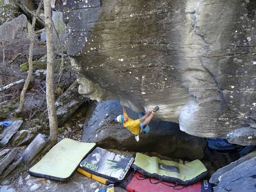 From Shallow Waters To Riverbed 8b+, Magic Wood