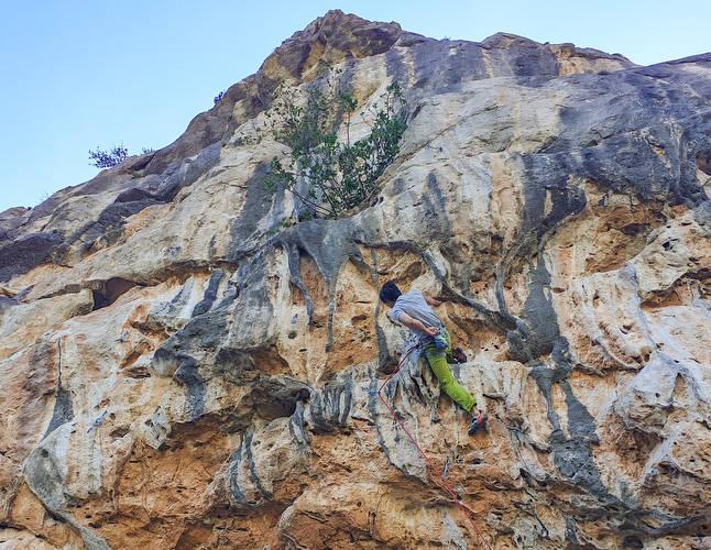 Crag classic.