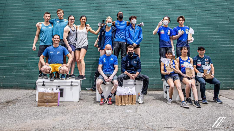 France win mixed team bouldering in SLC