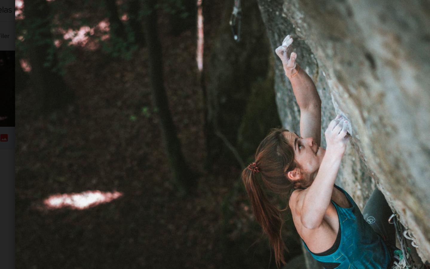 Headcrash 8c by Franziska Dietz after 4 years of climbing