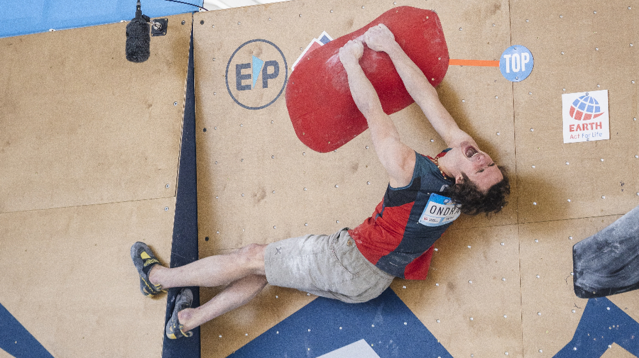Ondra comments his victory in SLC