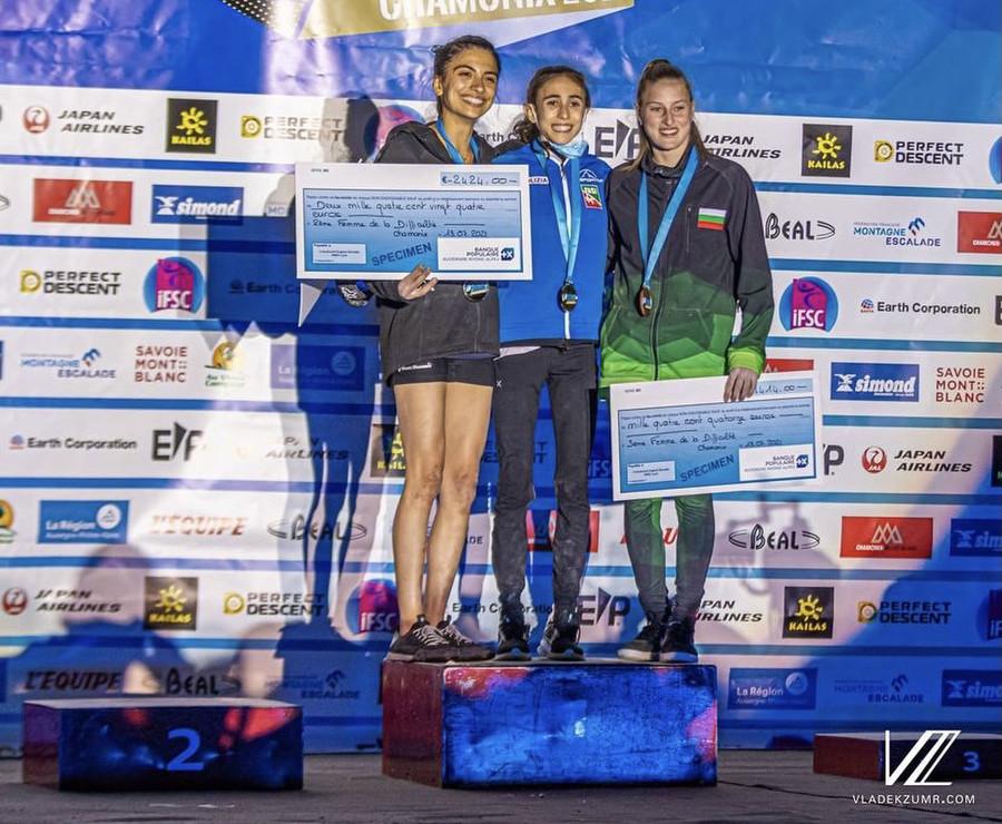 Rogora and Bailey win in Chamonix