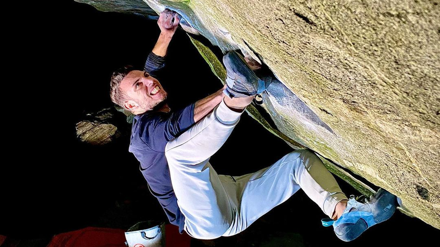 Elias Iagnemma logs eight 8C/9a's