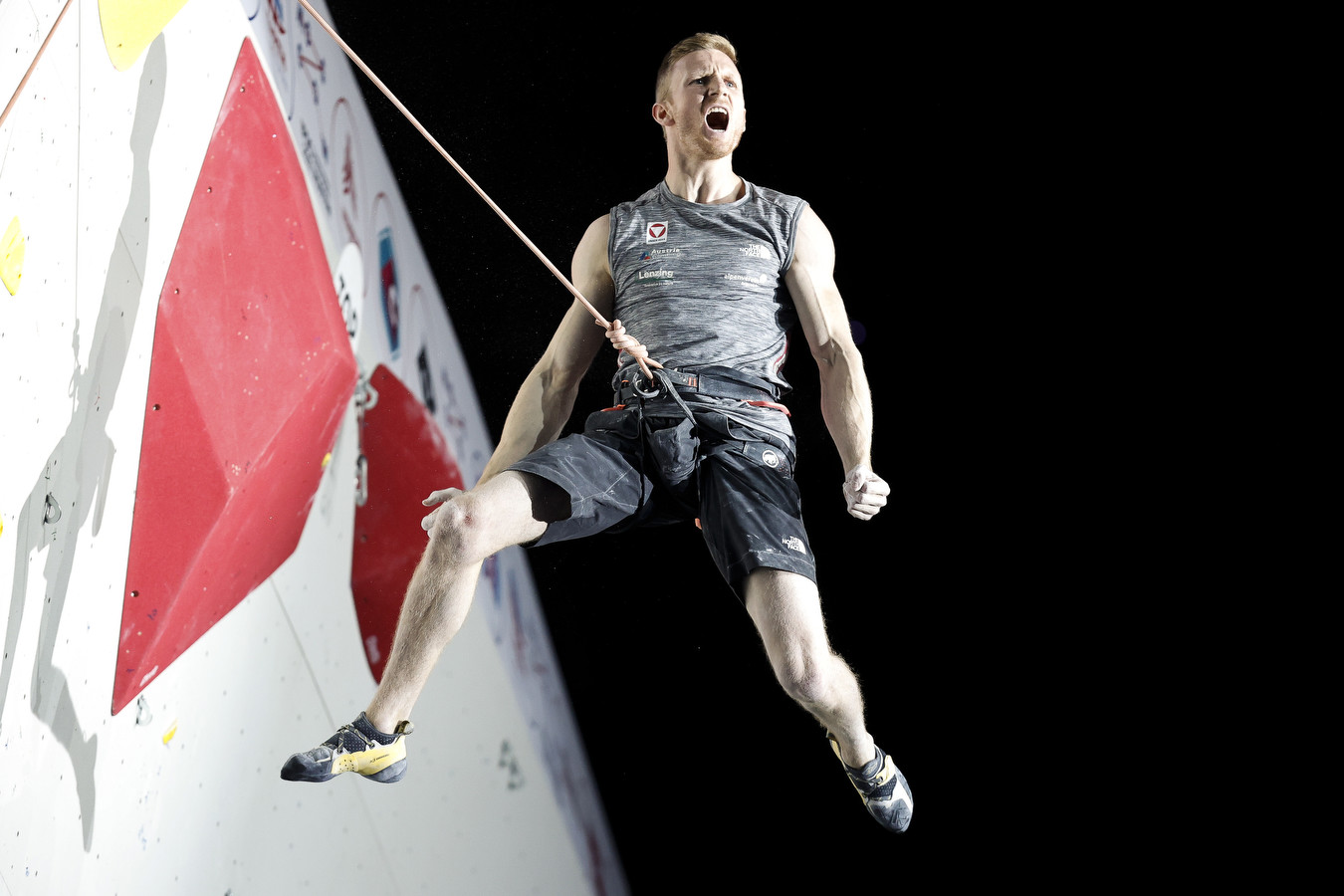 Jakob Schubert is the Lead World Champion for the third time