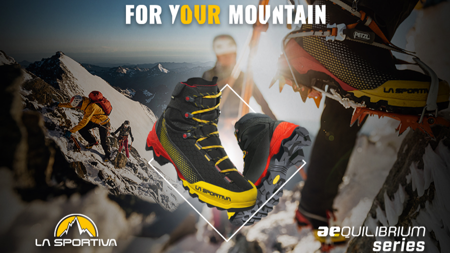 Aequilibrium Series: light and fast mountaineering by La Sportiva