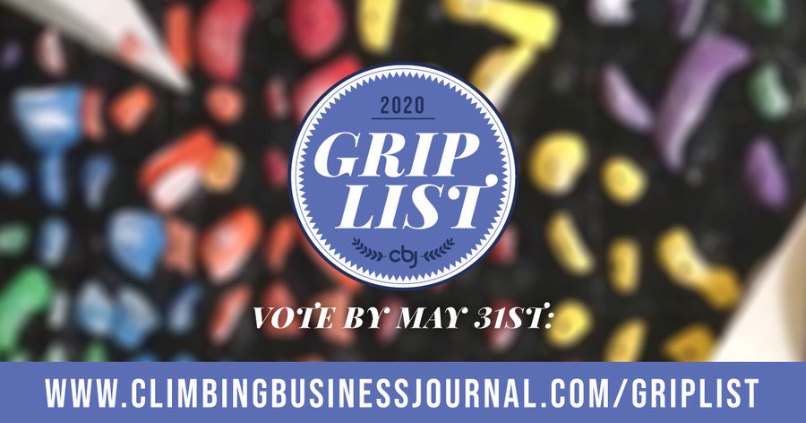 Climbing Business Journal 2020 Grip Survey, calling all setters!